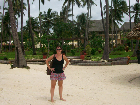 Robyn de Jager - it's beach time in Zanzibar!